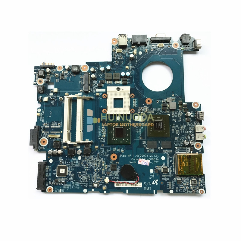цены NOKOTION BA92-04820A BA92-04818A LAPTOP MOTHERBOARD for SAMSUNG R700 PM965 G84-601-A2 DDR2 Main board Free cpu