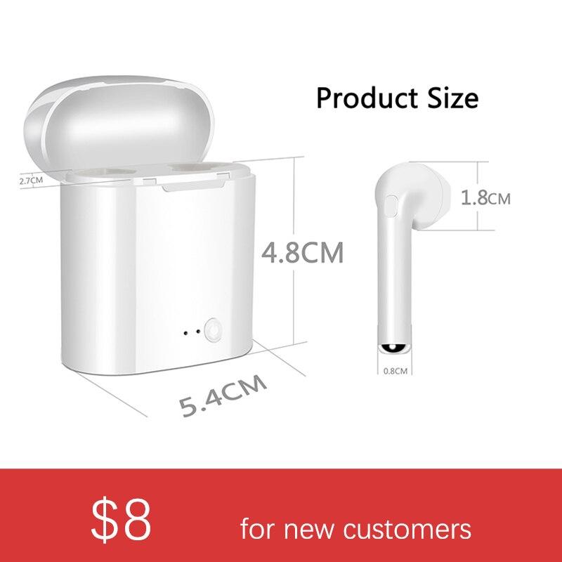 D'origine i7s TWS Mini Écouteurs écouteurs sans fil casque bluetooth écouteurs stéréo Pour Apple Air Gousses D'oreille Iphone pas auriculaire