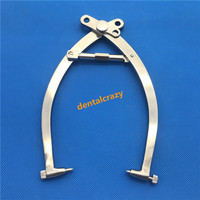 1pcs Stainless steel Large skull traction tong orthopedic Veterinary instrument tool