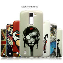 JURCHEN Case For LG K8 Case For LG K8 Lte K350 K350E K350N Cover Case Cute Lovely Cartoon Soft Cover For LG K8 Phone Case Cover