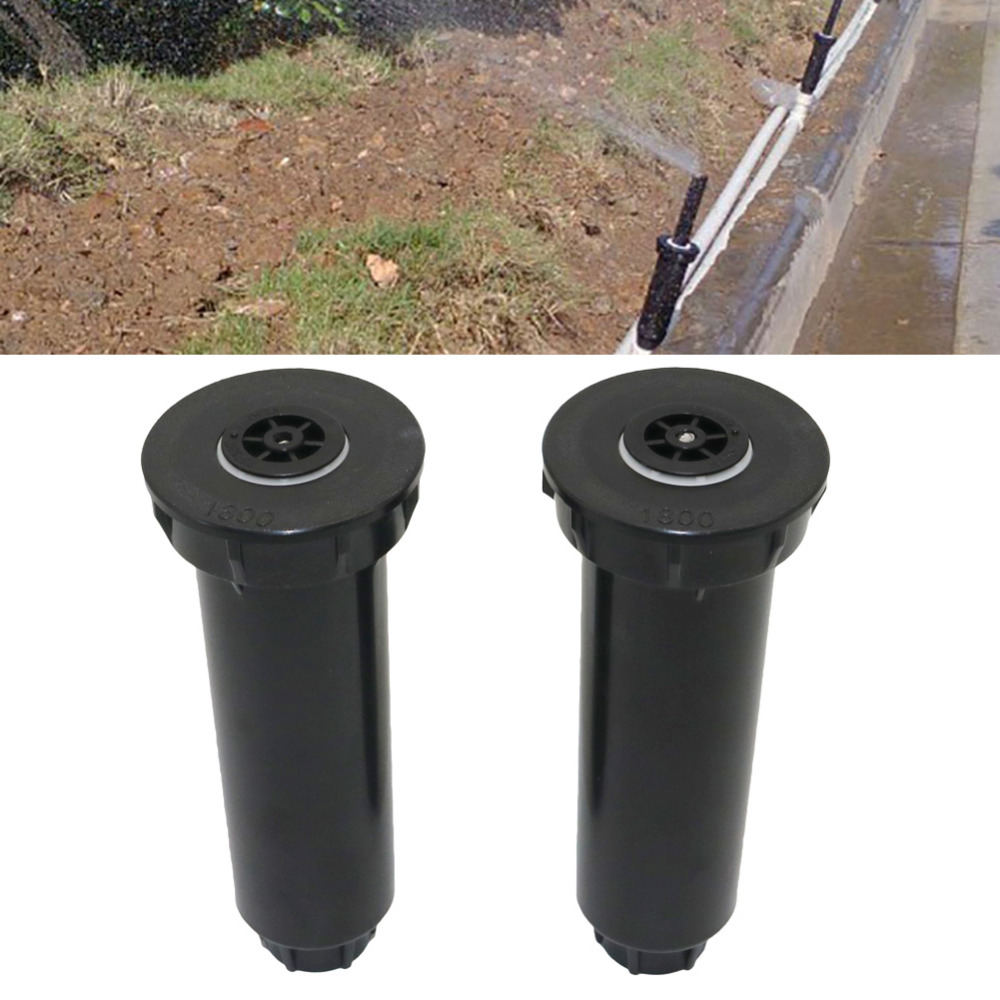 Adjustable 25~360 Degree 1/2 Inch Internal Thread Spring-Loaded Popup Sprinklers Garden Lawn Irrigation Watering Nozzles 1Pc
