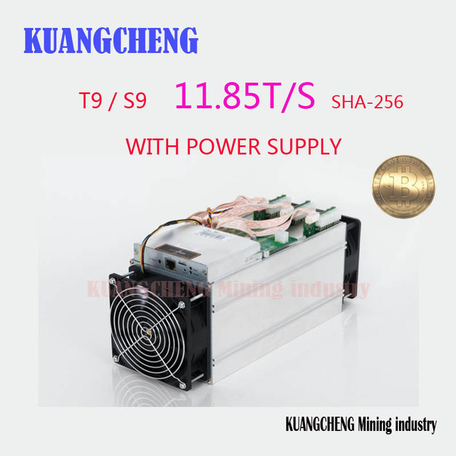 KUANGCHENG Mining industry sell Bitcoin Miner Antminer S9 11.85TH Asic Miner Newest 16nm Btc Miner Better Than Antminer S7