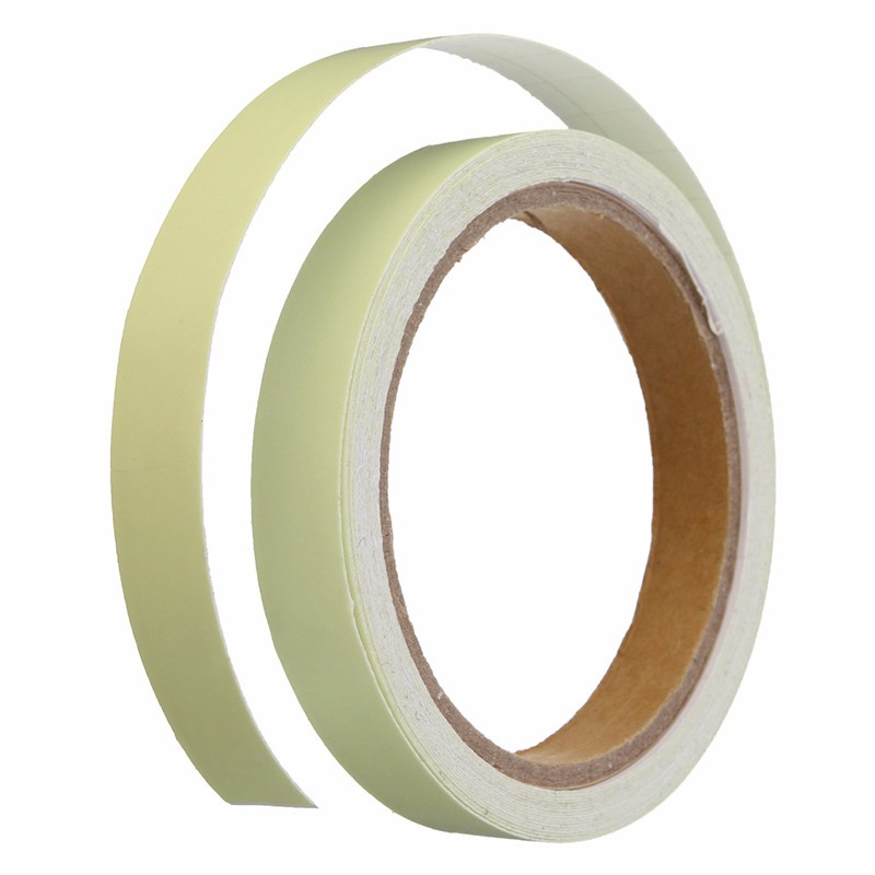 1.5cm*5m Green Luminous Tape Self-adhesive Warning Tape Night Vision Glow In Dark Safety Harmless Non-toxic Stage Decorations