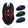 Мышь Профессиональный Colorful Backlight 4000 ТОЧЕК/ДЮЙМ Оптической Проводной Игровой Мыши Мыши НОВЫЙ Проводной Игровой Мыши Мыши souris sans fil