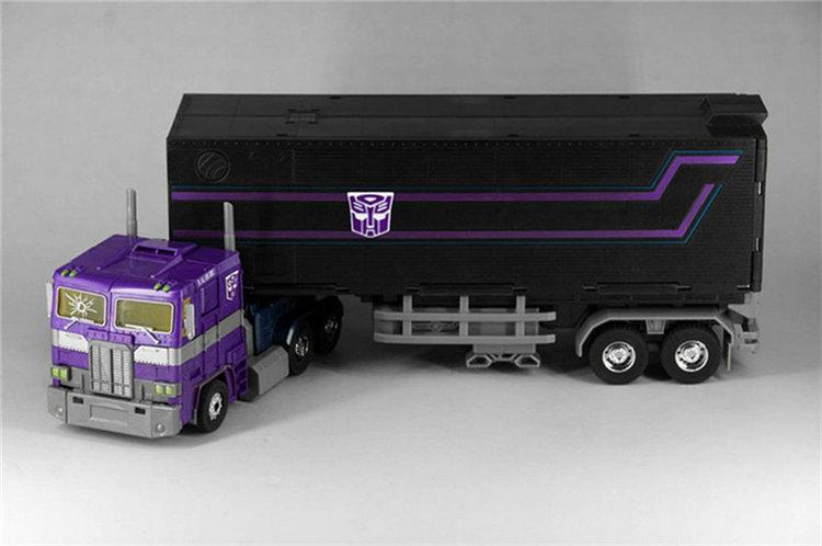 (IN STOCK) Toys KO MP10SG Optimus Prime Purple MP10 with trailer