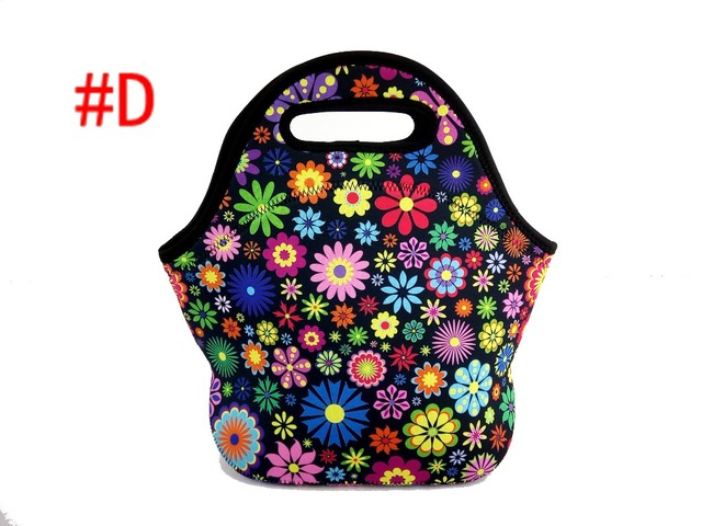 Insulated thermal Picnic basket Bags thermo Cooler neoprene lunch baby boxes Outdoor Food Container mother 210D Polyester