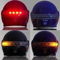 Светодиодный стоп-сигнал для мотоциклетного шлема  12 В  настраиваемый стоп-сигнал поворота для Harley Honda Suzuki Kawasaki Yamaha