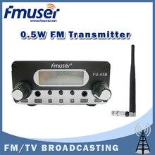 จัดส่งฟรีFMUSER FU-05B 0.5วัตต์วิทยุFM t ransmitterยางในร่มเสาอากาศแพคเกจ