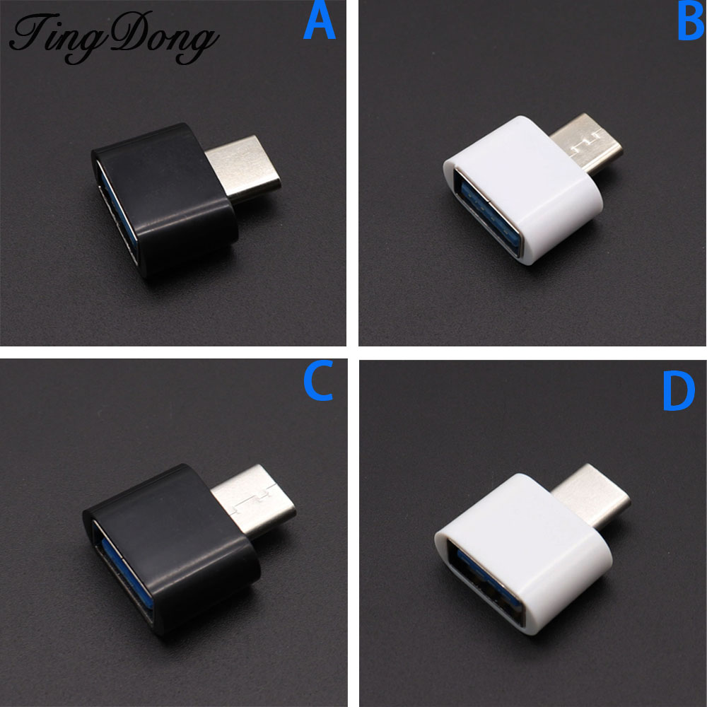USB  Type-C OTG Cable Adapter Type C USB-C OTG Converter For Xiaomi  Mi6 For Huawei For Samsung Mouse Keyboard USB DIsk Flash