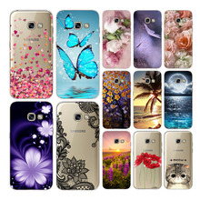 For  Samsung Galaxy A5 2017 Animal Phone case SamSung A520F soft silicon cute printing protective Back cove