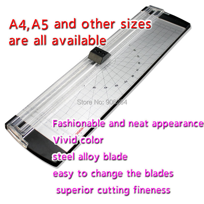 Portable Paper Cutting Machine for A4 Manual Paper Cutter Handmade Tool Office School Color Light weight Cutting Machine visad scissors portable paper trimmer paper cutting machine manual paper cutter for a4 photo with side ruler