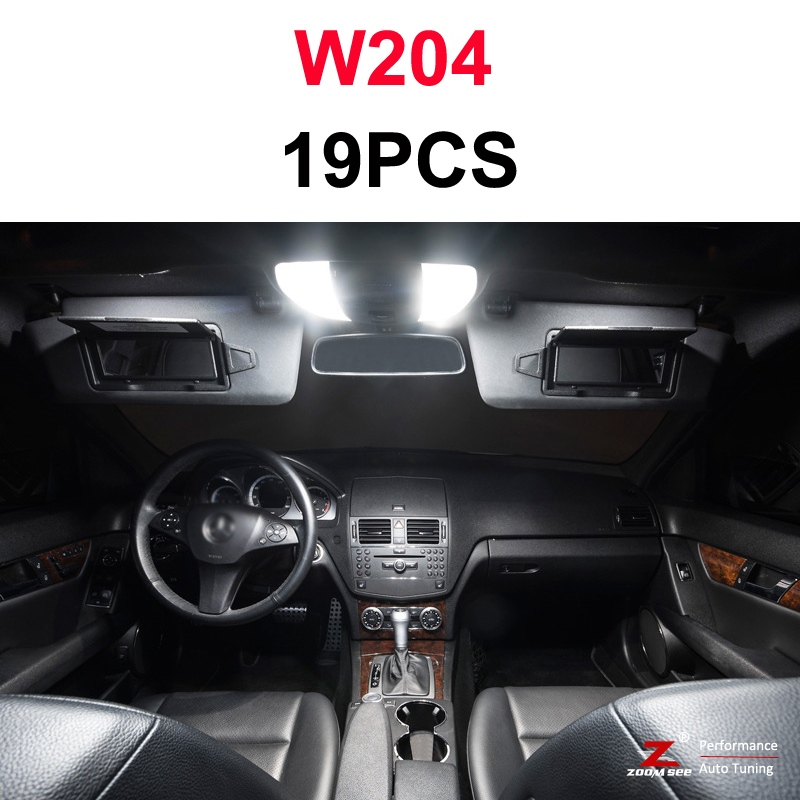 Идеальный белый светодиодный светильник Canbus для Mercedes Benz C class W202 W203 W204 S202 S203 S204 C203 C203 C204 C204(93-14