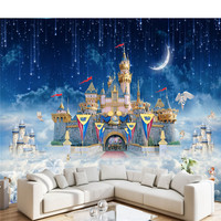 Cartoom Photo Wallpapers HD Custom 3D Murals Wall Papers For Kids Room Home Decor Wallpapers For