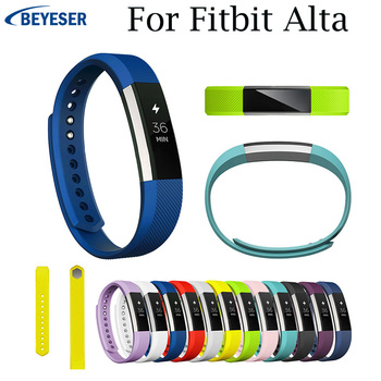 For Fitbit Alta/Alta HR Bracelet Wristband Replacement Silicone Watchband For Fitbit Alta Wrist Band Watch Strap Accessories cool denim chain strap for fitbit alta smart watch frontier classic bracelet for fitbit alta hr trend wristband accessories