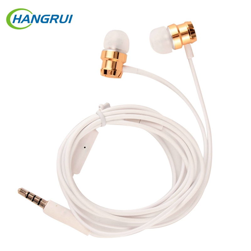 Turbo Metal Earphone super bass in ear earphones Stereo earbuds with microphone for iphone 7 for samsung for mobile phone vykon mk 3 bass stereo in ear flat cable earphones w microphone for samsung black 3 5mm plug