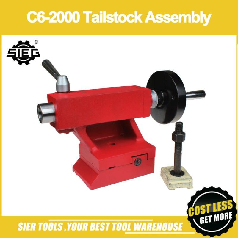 C6 2000 Tailstock Assembly SIEG C6 C6 SM6 Metal Tailstock