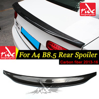 For Audi A4 A4a High quality Rear Spoiler Tail B8.5 Belgium Style Carbon Fiber Rear Spoiler Rear Trunk Wing car styling 2013 16