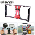 Ulanzi Handheld Phone Video Rig Case Handle Stabilizer for iPhone 7 smartphone for Livestreaming Youtube Filmmaking Videobloger