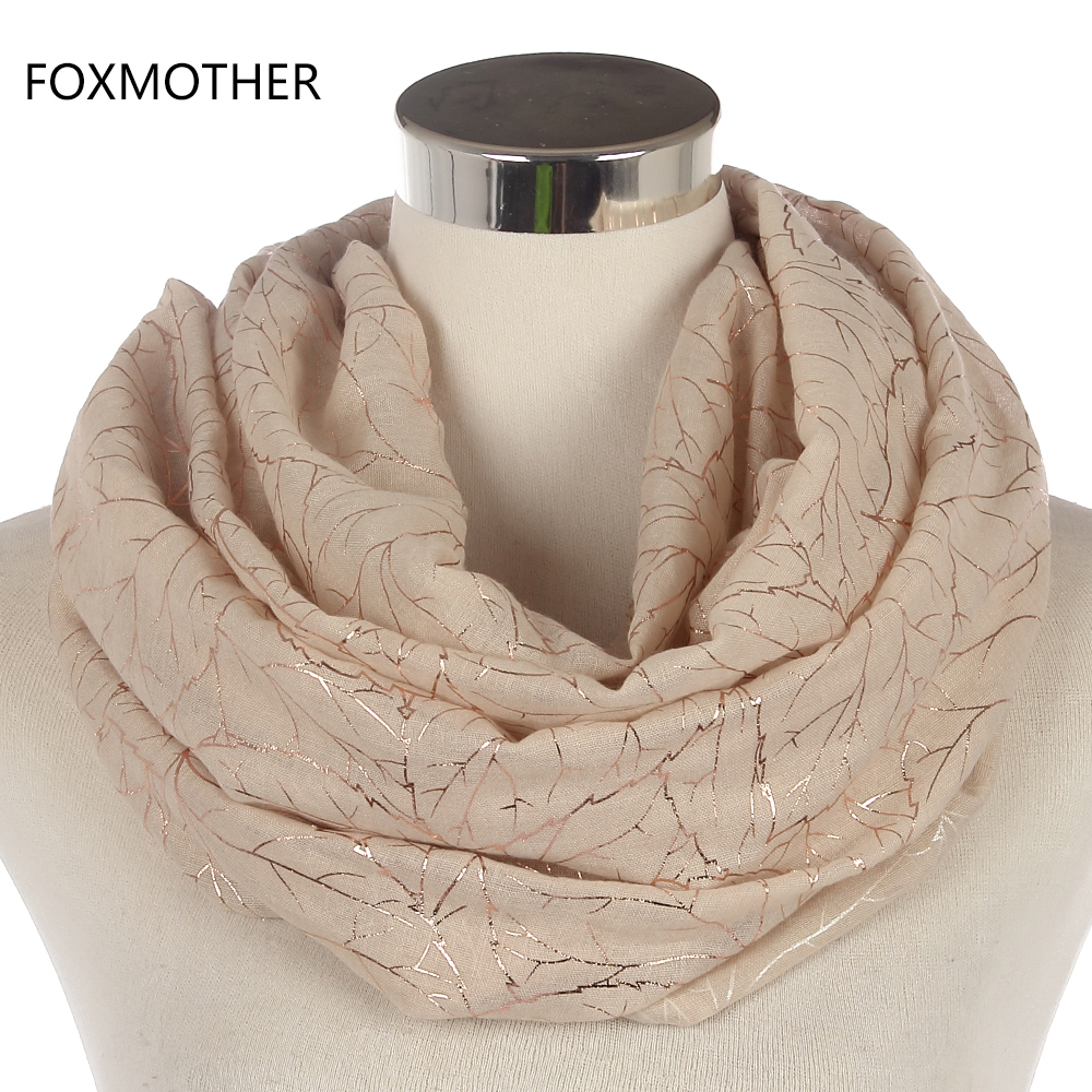 73e305dae Free Shipping 2018 New Fashionable Ladies Shiny Pink Grey Navy Bronzing  Gold Tree Branches Scarf Shawl For Womens