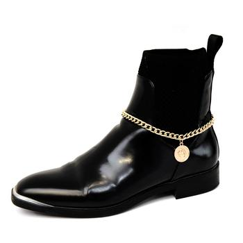 SHIXIN Fashion Charms Alexander Coin Anklet Bracelet for Women Modern Sandals High Heels Boot Shoe Decoration Ankle Chain Female 2