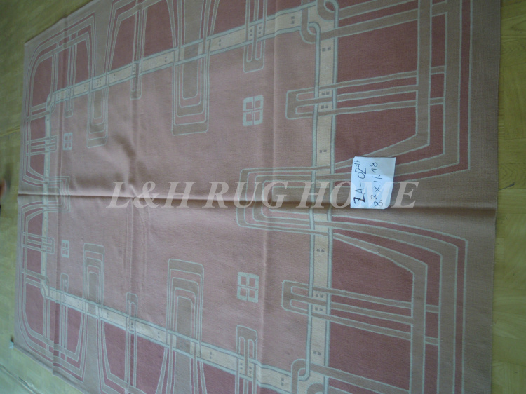 Penghantaran percuma 8.2'X1.48 '(250x350cm) Perancis Aubusson - Tekstil rumah - Foto 1