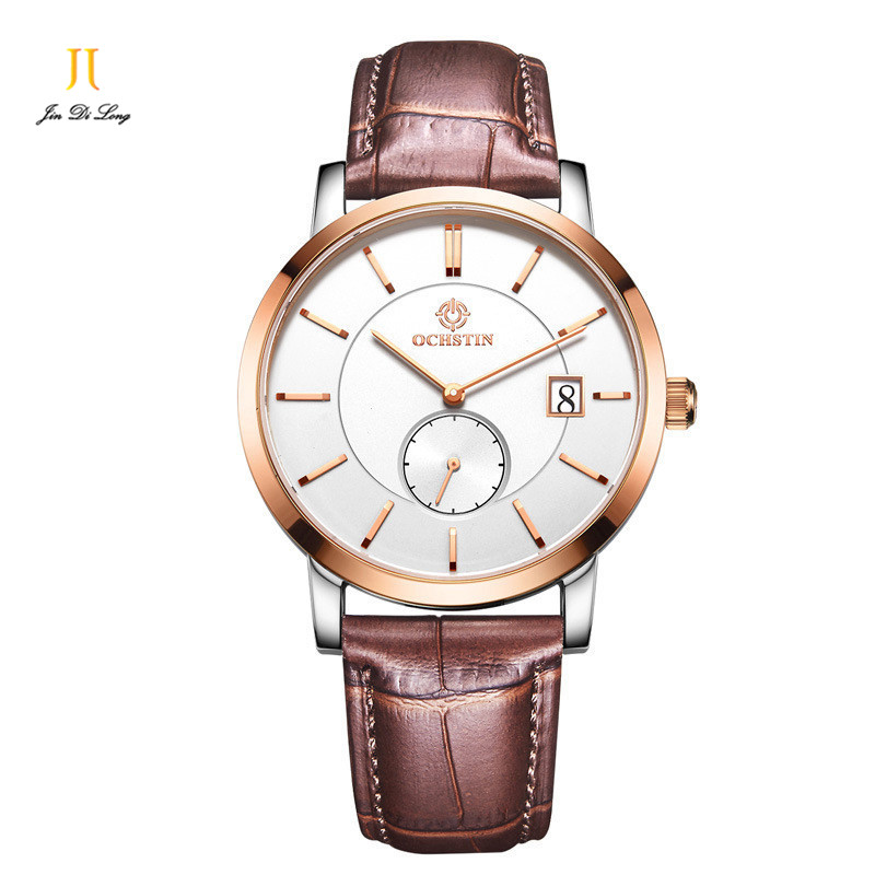 2017 New Quartz-watch Men Clock Concise Wrist Watches Casual Simple Fashion Top Luxury Brand Shows Man Business Watches for Men