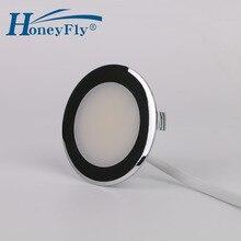 HoneyFly Brevettato LED Imbottiture Luce 220 240V 2W HA CONDOTTO LA Lampada del Punto del Soffitto SMD 2835 Interno 55 millimetri foro di taglio Molto Facile Installazione