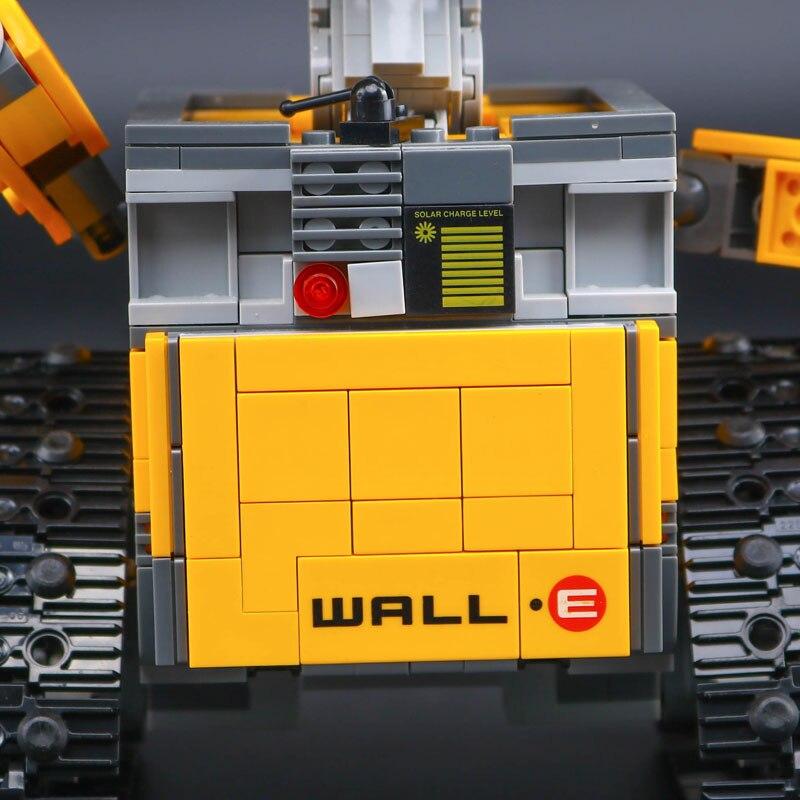 Top technique idée Robot mur E ensemble de construction Kits jouets briques éducatives blocs jouets pour enfants bricolage cadeau - 4