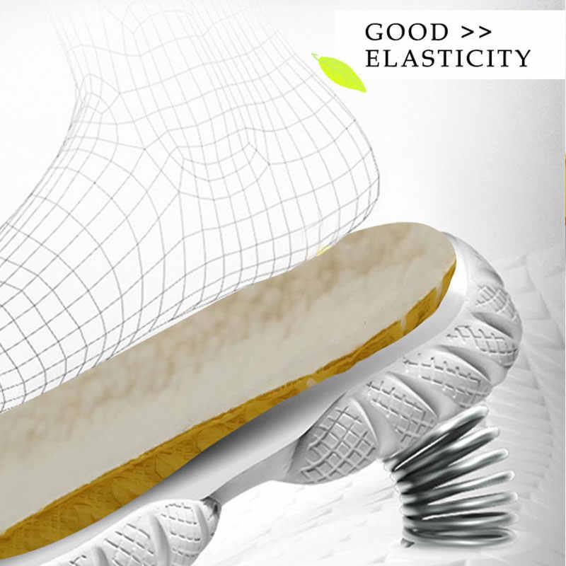 Sıcak Astarı Isıtmalı Kaşmir Termal Tabanlık Kalınlaşmak Yumuşak Nefes Kış spor ayakkabılar Tabanlık Ayak Ayakkabı Botları Pad Taban