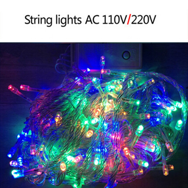 Half String Led Lights Out : Aliexpress.com : Buy 10M 100 LED String ball Lights Decorative Christmas Party Festival Twinkle ...