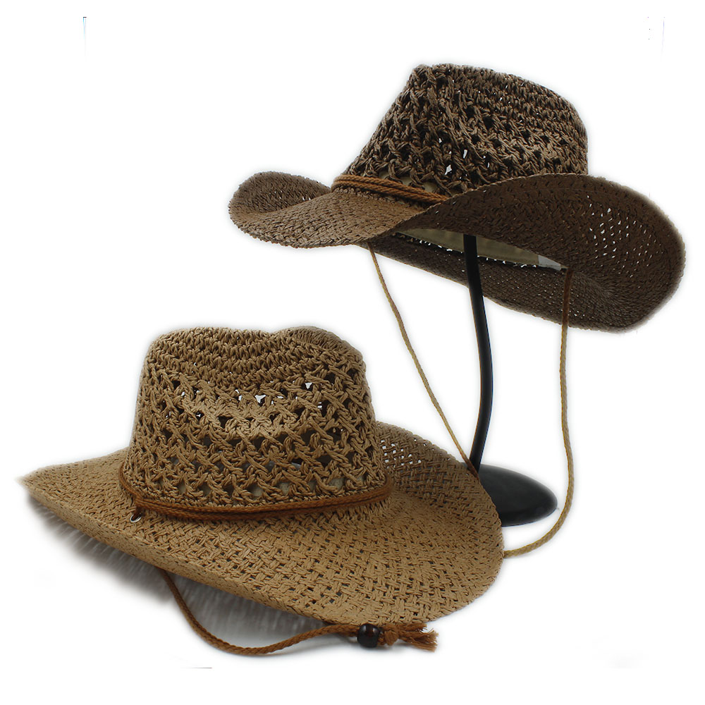 100% handwork verão palha toquilla chapéu de cowboy para o cavalheiro dos  homens das mulheres aba larga cap velejador sombrero panamá jazz chapéus  padrinho ... 5847228341