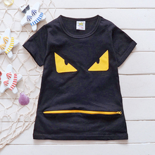 Children Cartoon T Shirts Clothes T-Shirt For Boys Cotton Short Sleeve Tee Shirt 3 Colors New 2016