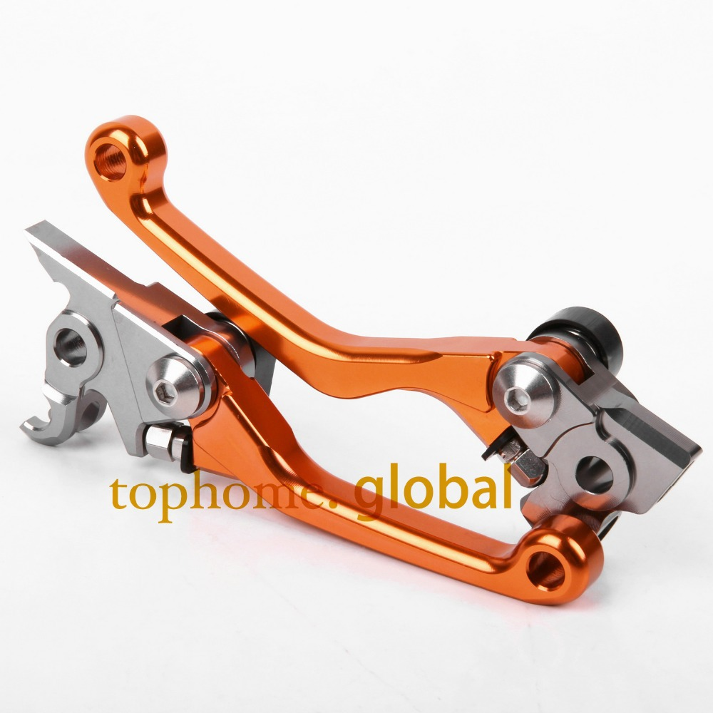 Hot one pair CNC Pivot Dirttbike Brake Clutch Levers For KTM 150SX 150XC 2009 2010 2011 2012 2013 hot one pair cnc pivot dirttbike brake clutch levers for honda crf450r 2007 2015 2008 2009 2010 2011 2012 2013