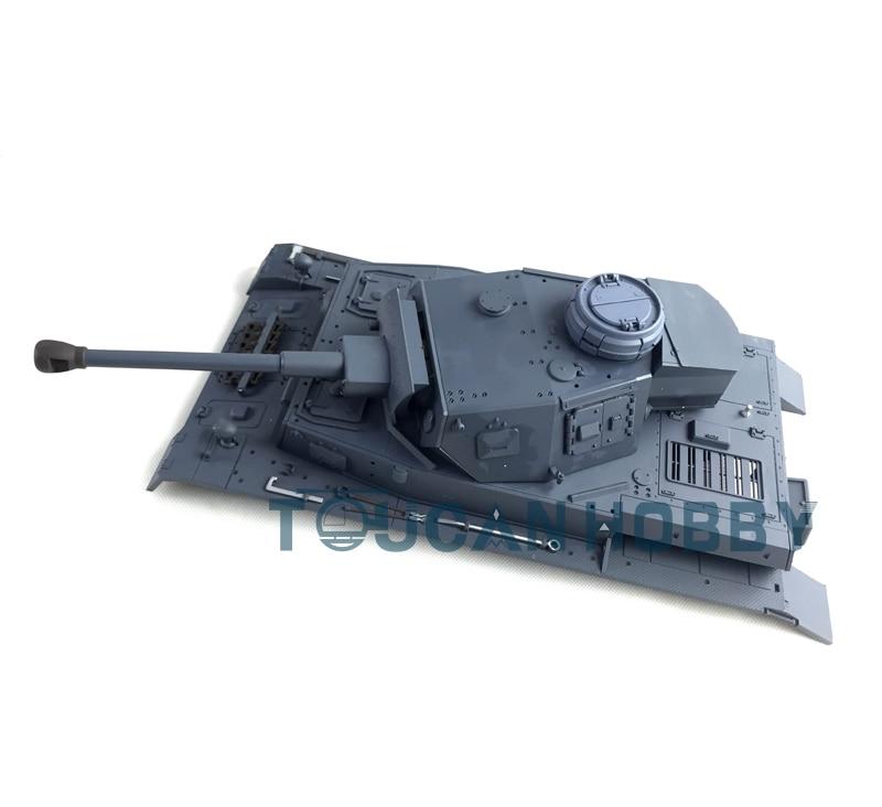 HengLong 1/16 Scale German Panzer IV F2 RC Tank 3859 Plastic Upper Hull&Turret детское лего tank iv f2 1193pcs lego