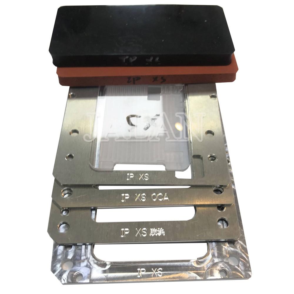YMJ dla iphone XS bez zobowiązań flex do laminowania OCA formy wyświetlacz Lcd z ekranem dotykowym pozycjonowanie dotykowy szkło laminowane formy do naprawy gumy w Zestawy narzędzi do naprawy telefonu od Telefony komórkowe i telekomunikacja na AliExpress - 11.11_Double 11Singles' Day 1