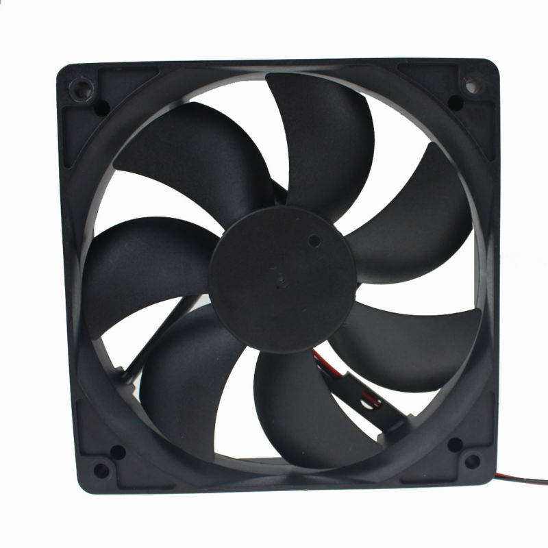 10PCS Gdstime 2Pin 12V 120x120x25mm 12cm Hydraulic Bearing 3000RPM DC Brushless Industrial Cooler Cooling Fan 120mm x 25mm gdstime 10 pcs dc 12v 14025 pc case cooling fan 140mm x 25mm 14cm 2 wire 2pin connector computer 140x140x25mm