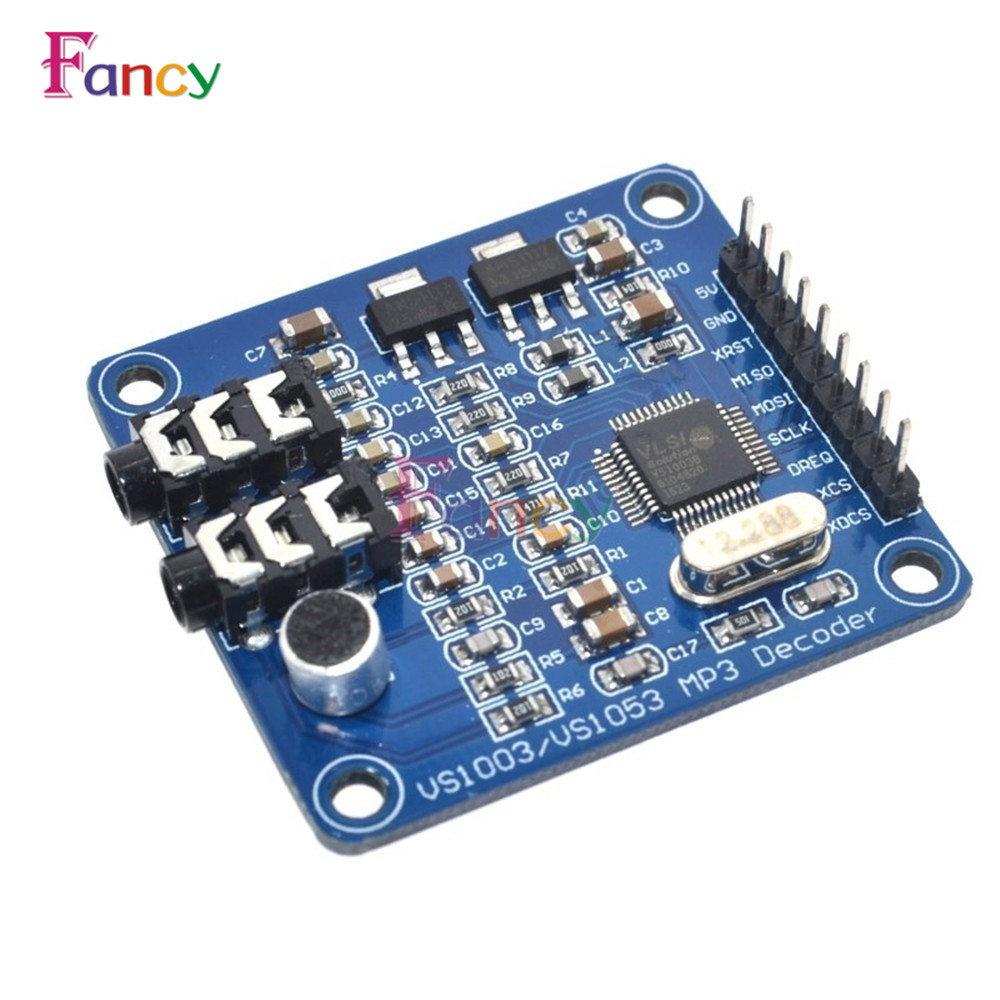 VS1003B VS1053 MP3 Module Development Board VS1053b VS1053 IC Onboard Recording Function vs1003b vs10038 vs1053b lqfp48