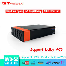 GTMEDIA Freesat HD DVB S2 V8 Nova Satellite TV Receiver H.265 1080p Support CCCAM BISSKEY DVB S2 Set Top Box Spain Free Shipping dvb s2 1080p hd v8 nove satellite tv receiver with 1 year cccam clines iks full hd h 265 freesat v8 nove sat decoder youtube