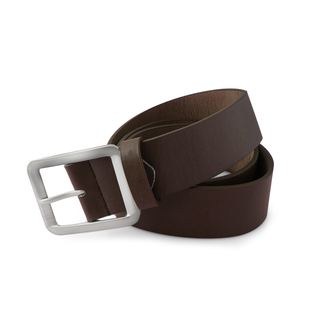 1PC Casual Fashion Men's Suits Faux Leather   Belt   Buckle Waist Strap   Belts   Buckle Black/Brown