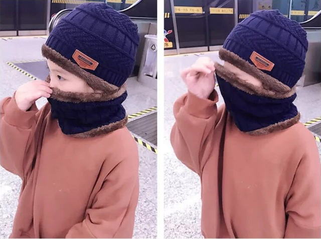 2018 czapka dla niemowląt szalik koral polar czapki dla chłopca dziewczyna bawełna wiosna jesień zima dzieci czapki dzieci fotografia rekwizyty boże narodzenie