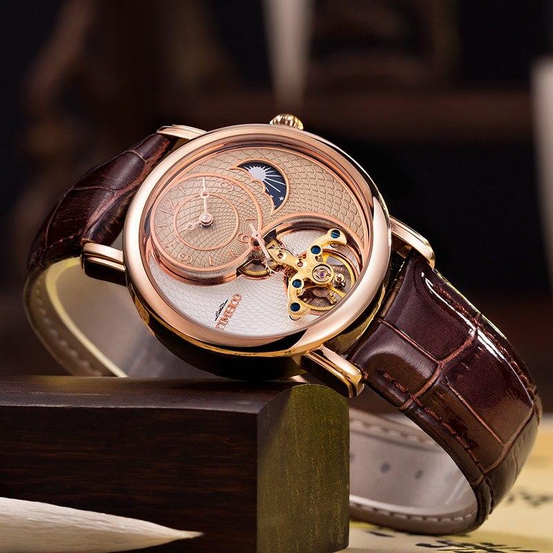 TIME 100 Mens Watches Luxury Clock Automatic Mechanical Watch Men Business Waterproof Sport Wrist Watch Relogio Masculino new