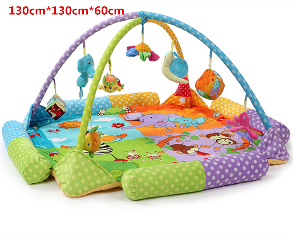 Baby Soft Play mat Game Blanket Pad Kids Play Tapaete Fitness Frame Educational Baby Toys Climb Mat Crawling Baby Gym Blanket body slimming relax massage new dance pad non slip dancing step dance game mat pad for pc blanket relax tone leisure recreation