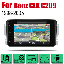 For Mercedes Benz CLK C209 W209 1998~2005 NTG Car Android GPS Navigation DVD Player Radio Stereo USB WIFI HD Screen Multimedia цена