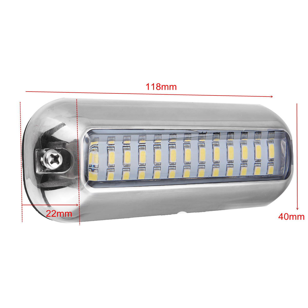 Reasonable 50w 27led Red/blue/green Boat Light Underwater Pontoon Marine Transom Light Ip68 Waterproof Stainless Steel Anchor Stern Lamp Atv,rv,boat & Other Vehicle Boat Parts & Accessories