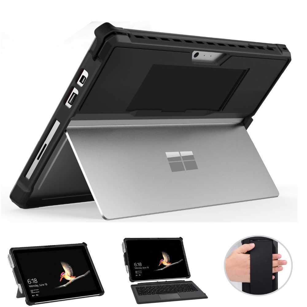Case for Microsoft Surface Pro 6 Pro 5 4 Pro 2017 Pro LTE New Pro 12.3 All-in-One Protective Rugged Stand Cover w/Pen Holder