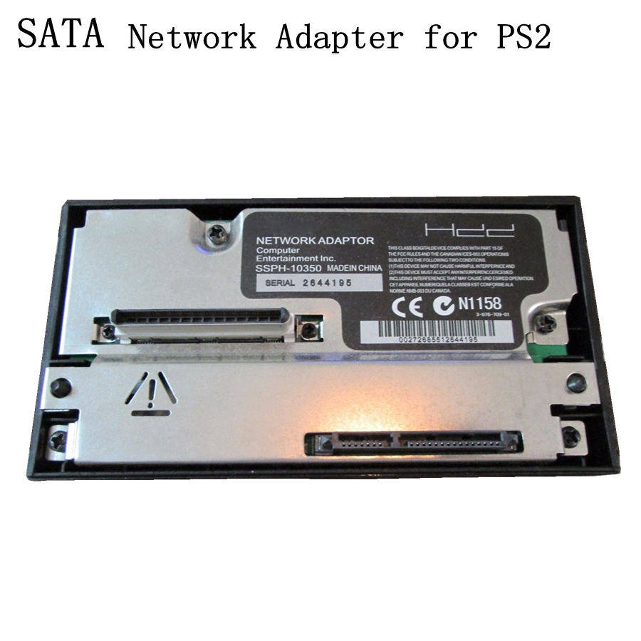 XBERSTAR SATA Adapter for PS2 SATA 2.5 / 3.5 HDD Hard Disk Adapter Network Adaptor for Sony Playstation2