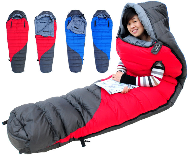 Ultralight Down Sleeping Bags Outdoor Camping S Style Bag Autumn And Winter Thick Warm In From Sports