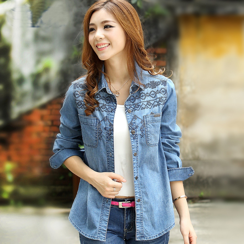 Jeans And Shirt Ladies Photo Album - Reikian