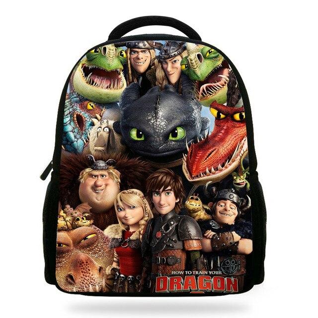 959a510bae7 14 inch Primaire Schooltas hoe Uw Dragon Rugzak Kids Jongens Cartoon Tassen  Kinderen Mochilas Escolares Infantis