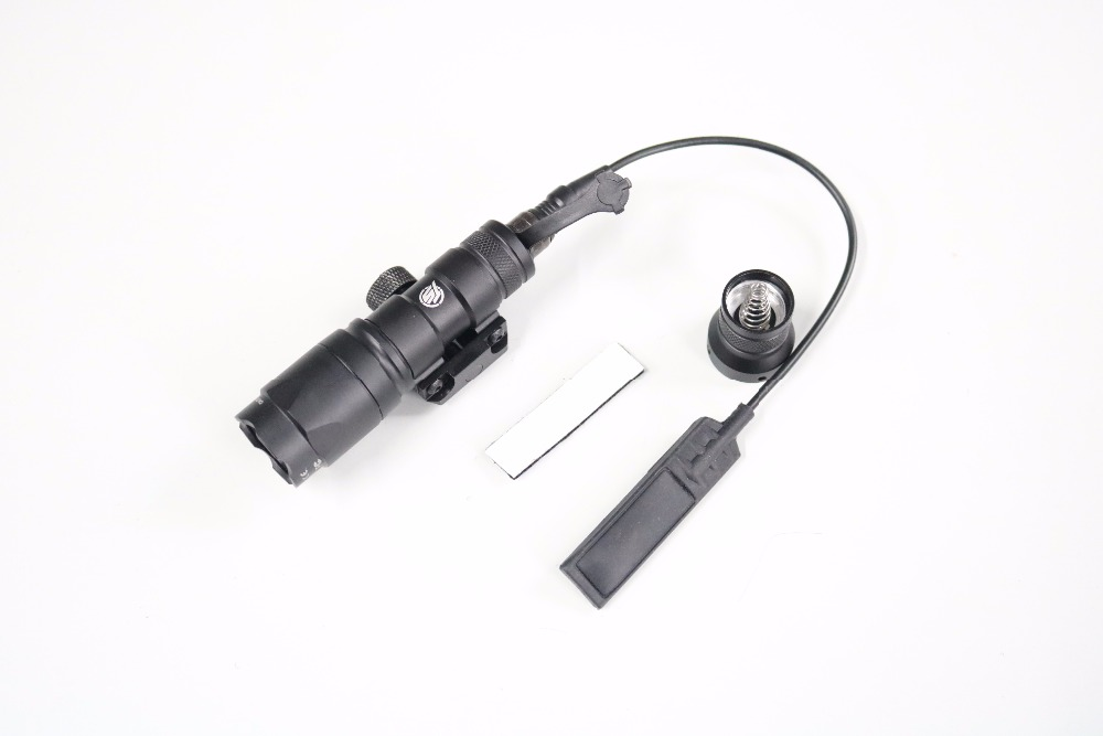 TACTICAL-SKY Airsoft M300A Mini Scout Weaponlight BK